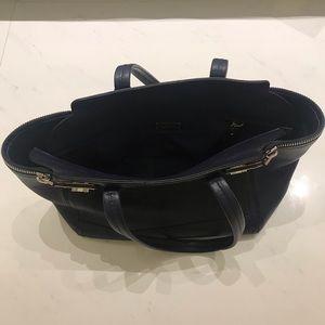 Navy Blue Ferragamo Bag